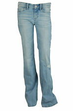MIH Jeans Womens Broken Wash Cape Mid Rise Easy Bell Leg Jeans $246 New