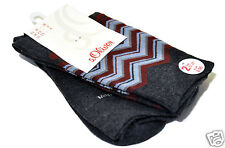 S.Oliver 2 Pairs Women's Fashion Socks 35-38 39-42