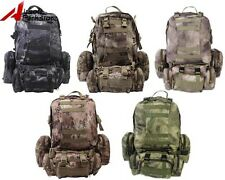 Molle Tactical Military Hiking Climbing Large Assault Backpack Bag with Pouches
