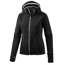 Bench ID Damen Fleecejacke schwarz Jet Black Jacke Fleece