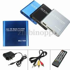 1080P Mini HDD Media Player MKV/H.264/RMVB Full HD with HOST USB/SD Card Reader