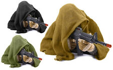 Adult Mesh Cotton Airsoft Paintball Military Sniper Veil Scarf Shemagh Head Wrap