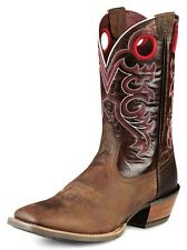 Ariat Western Boots Mens Cowboy Crossfire Weathered Brown 10008803