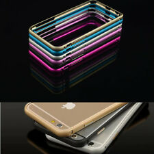 Ultra-thin Aluminum Buckle Open Metal Bumper Case Cover For iphone 6 4.7''/5.5''