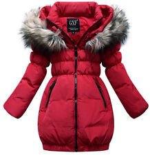 2015 new Korean children's down jacket girls jacket long sections thicker coat