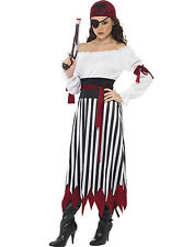 Sexy Pirates Of The Caribbean Wench Pirate Disney Halloween Costume Womens