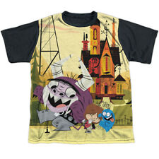 Fosters Home for Imaginary Friends Dancing Friends Youth Black Back T-Shirt