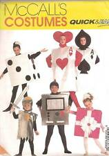 Gift Dice Cards Knight Video Game Costume McCalls Sewing Pattern 8303 Halloween