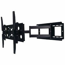"Universal Full Motion Tilt Swivel TV Wall Mount Bracket 30"" - 85"" LED LCD Plasma"