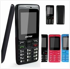 Unlocked 1.8'' GSM Torch Backup DualSim Cell Phone Gift For Parents Christmas