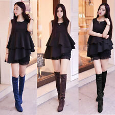 women boots spring new long knee high flat Martin casual Cotton Sleeve shoes
