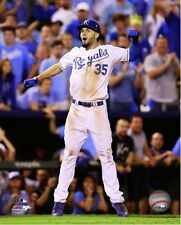 Eric Hosmer Kansas City Royals 2014 AL Wild Card Celebration Photo (Select Size)