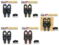 """New MTN 27"""" WP  All Terrian Snowshoes up to 220 lbs+ Free Carrying Tote Bag"""