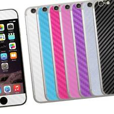 Carbon Fibre Style Vinyl Decal Kit Skin Sticker For 4.7 Inches iPhone 6