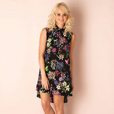 Womens Glamorous Bird Shift Dress In Black From Get The Label