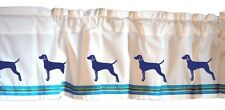 Vizsla Dog Window Valance *Your Choice of Colors* Original
