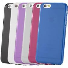 TPU Silicone Gel Skin Case Cover For 4.7 Inches iPhone 6 + Screen Protector
