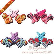4pairs My Little Pony Hair clips,girls Hairpins,Hair Accessories,Hair Ropes/Band