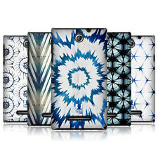 HEAD CASE JAPANESE TIE DYE PROTECTIVE COVER FOR SONY XPERIA E C1505