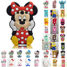 Case Cover For Apple iPhone Soft Cute Patterned Shockproof Silicone Design