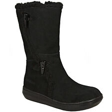 Rocket Dog Slope Suede Boots In Black From Get The Label Shoes Footwear