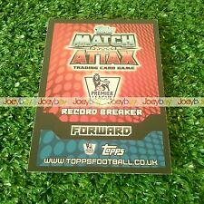 14/15 RECORD BREAKER OR CLUB BADGE CARD MATCH ATTAX 2014 2015 BADGES BREAKERS