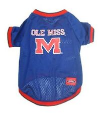 NCAA Ole Miss Rebels Pet Dog Jersey (all sizes)