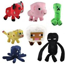 Minecraft Overworld Creeper Enderman Animal Plush Soft Toy Doll Jazwares Game