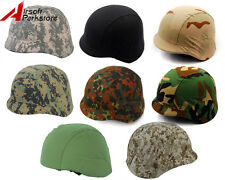 Military Outdoor Tactical Camo Helmet Cover for M88 PASGT Kelver Swat Helmet