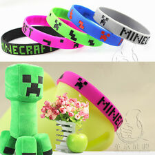 5 Colors Fashion Charms Silicone Rubber Hot Games Bracelet Bangle Wristband New