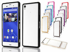 Ultra-thin Aircraft Aluminum Bumper Frame hard Cover Skin For Sony Xperia Z3