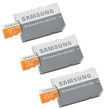 Samsung EVO16GB 32GB 64GB Micro SD SDHC UHS-I Class10 Memory Card With Adapter