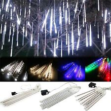 Meteor Shower Falling Star Rain Drop Icicle Snow Fall LED For Xmas String Light