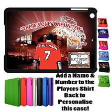 PERSONALISED MANCHESTER UNITED UNOFFICIAL COVER IPAD MINI SMART CASE GIFT
