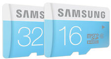 Samsung 16GB 32GB 24MB/S Micro SD SDHC Class 6 Memory Card For Galaxy S3 S4 S5