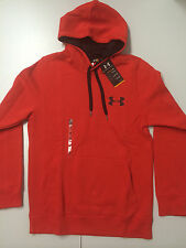 NEW Men's Under Armour Rival Cotton Hoodie #1248345