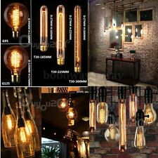 Hot Selling 60W Vintage Antique Edison Style Filament Glass Candle Light Globe