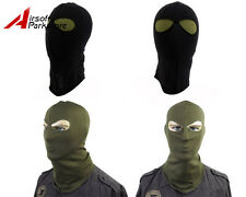 Tactical Airsoft Outdoor SWAT Police Style 2 Holes Balaclava Hood Full Face Mask