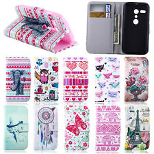 Hot Sale Flower Pattern Card Holder Flip Leather Wallet Stand Soft Case Cover
