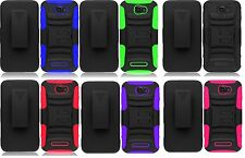 Holster + Hybrid Case Phone Cover Accessory for Alcatel One Touch Pop Icon A564C