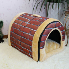 New Outdoor Pet Kennel Bed Cozy Large/Small/ For Dog And Cat Puppy Durable House