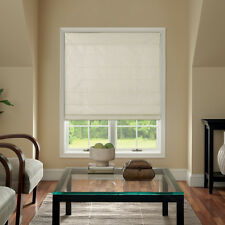 Cordless Fabric Roman Shades 4 Colors 6 Sizes