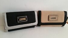 NWT GUESS WALLET BLACK OR BEIGE COLORS