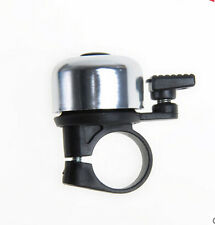Security Bicycle HANDLE BAR BELL Metal Ring Black Bike Bell Horn Sound Alarm