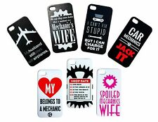 NEW Hard Plastic Funny Mechanic Cover for iPhone 4s 4 Case Plumber Welder Wife