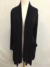Comfy USA Modal Draped Pocket Cardigan Style M539 NEW with Tags!