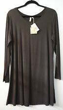 Comfy USA Modal Long sleeve Long Tee Tunic Shirt Style M185 NEW with Tags!