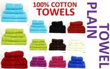 Plain Cotton Towels in Hand Towel Bath Towels Face Towel or Bath Sheet All New