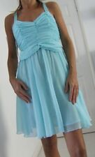 NEW ASOS AQUA GREEN CHIFFON DRESS 6, 10, 12