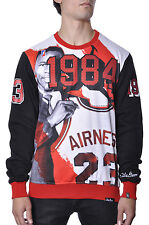 Chicago Bulls Post Game Michael Jordan Draft Day Airness Plus Size Crew Sweater